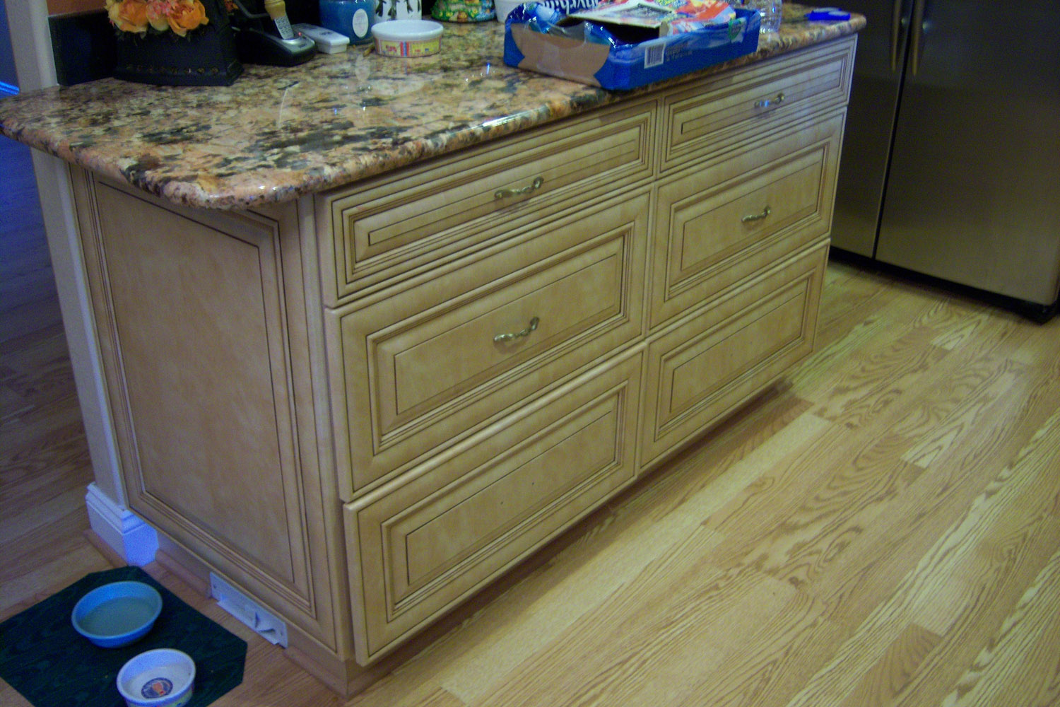 Kitchen cabinets drawers for Kitchen cabinet drawers