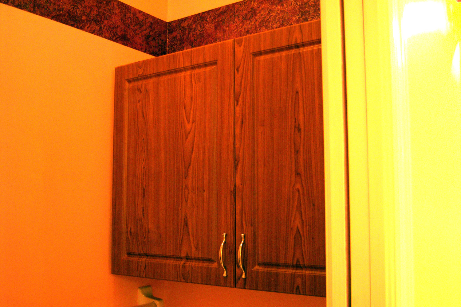 Laundry Room Cabinets After