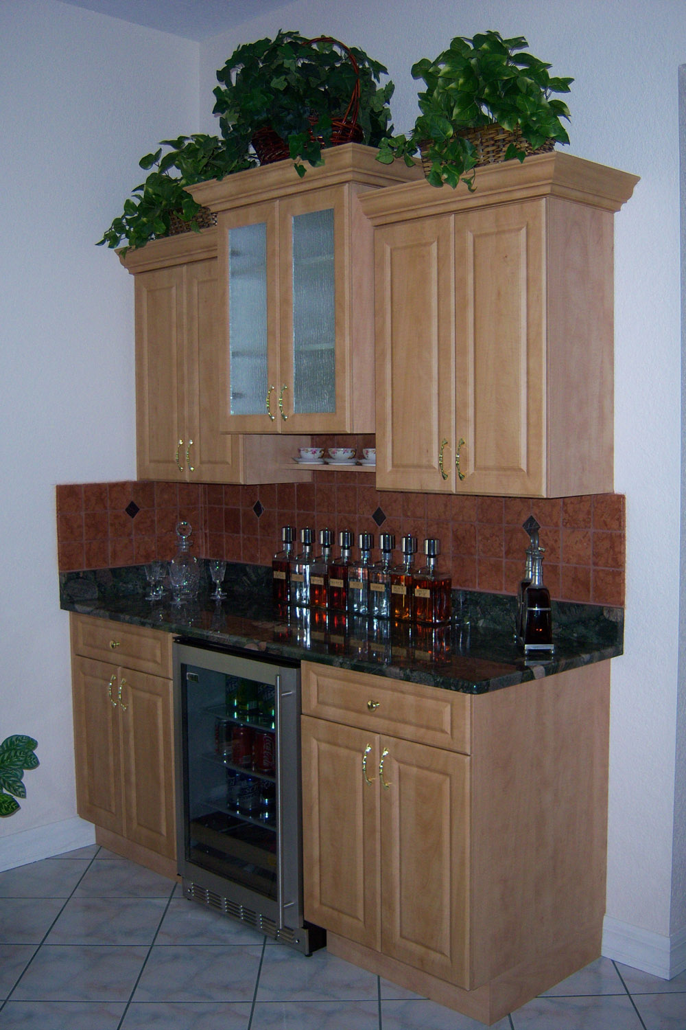 Dry Bar Cabinets (without sink)